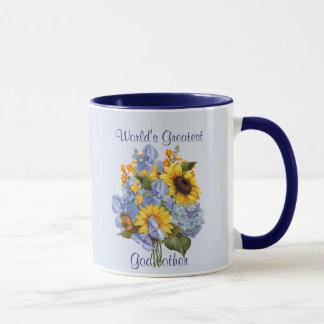 Summer Bouquet - Godmother Mug
