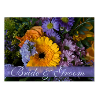 Summer Bouquet • Save the Date Mini Card Business Cards