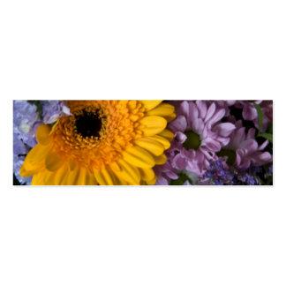 Summer Bouquet • Wedding Website Profile Card Business Card Templates