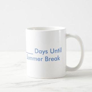 Summer Break Countdown Mug