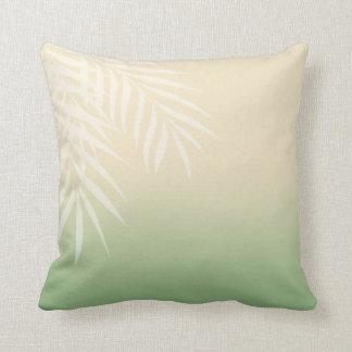 Summer Breeze Beach Wedding | jade Throw Pillow