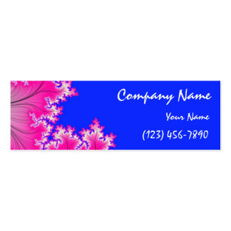 Summer Breeze Profile Card Mini Business Card