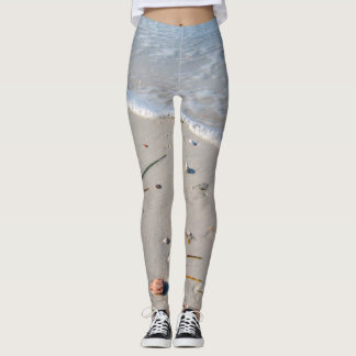 Summer bring the beach with you always leggings