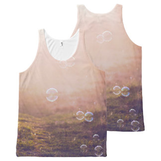 Summer Bubbles All-Over-Print Tank Top