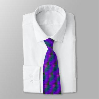 Summer Butterflies Purple Tie