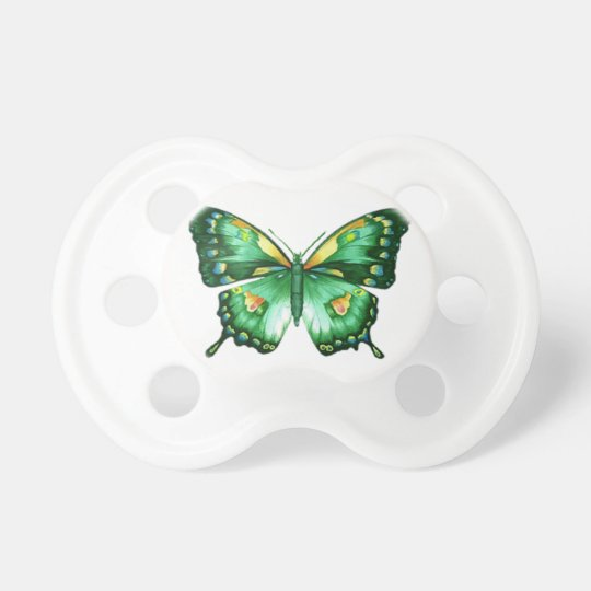 Summer Butterfly Baby Pacifier