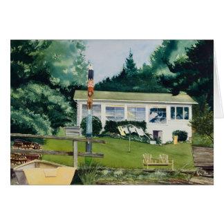 Summer Cabin - Suquamish Washington Card