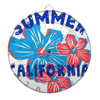 summer california dartboard