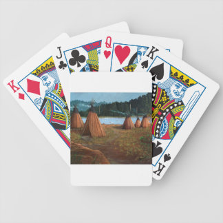 Summer Camp Bicycle Playing Cards