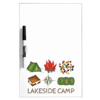 Summer Camp Cabin Decor Camping Marker Board