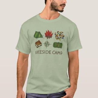 Summer Camp Camping Tent Fire Compass Custom Shirt