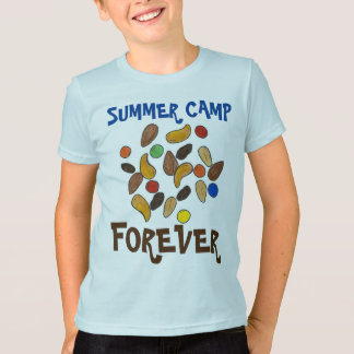 Summer Camp Forever Trail Mix Camping T-Shirt