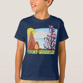 Summer Camp Illustrated Shirt with Changeable Text