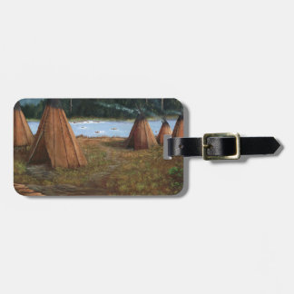 Summer Camp Luggage Tag