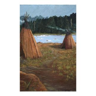 Summer Camp Stationery
