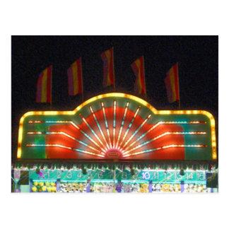 Summer Carnival Games Postcard