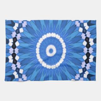Summer Celebration (blue) Kitchen Towel