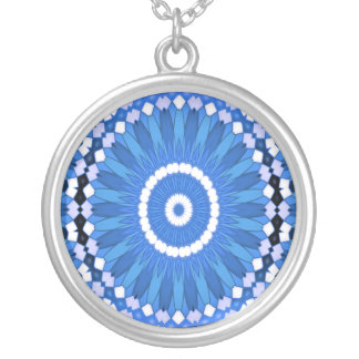 Summer Celebration (blue) Silver Plated Necklace