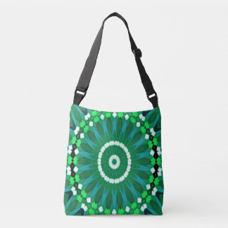 Summer Celebration (green) Crossbody Bag