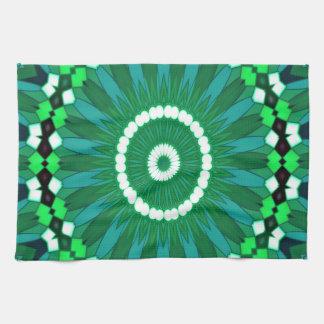 Summer Celebration (green) Kitchen Towel