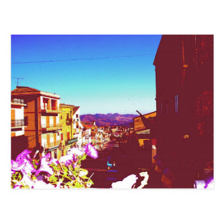 Summer Cianciana, Sicily Postcard