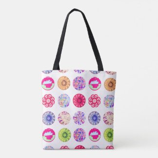 Summer Circle circle Tote Bag