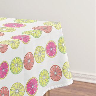 Summer Citrus Fruit Orange Lime Lemon Grapefruit Tablecloth