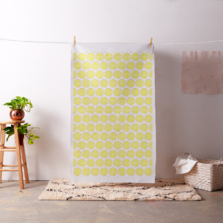 Summer Citrus Lemon Fabric