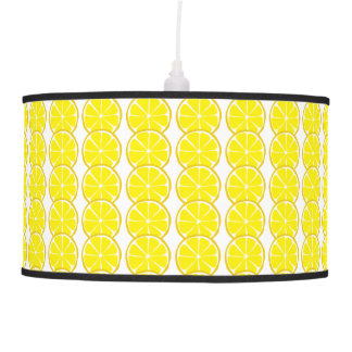 Summer Citrus Lemon Lamps and Shades
