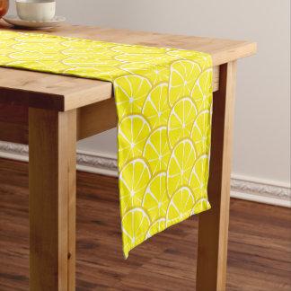 Summer Citrus Lemon Table Runner