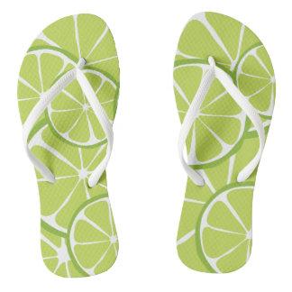 Summer Citrus Lime FlipFlops