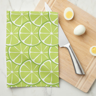 Summer Citrus Lime Kitchen Towel