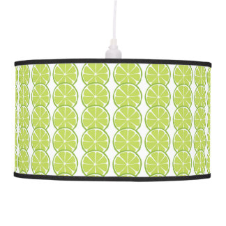 Summer Citrus Lime Lamps and Shades