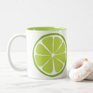 Summer Citrus Lime Mug