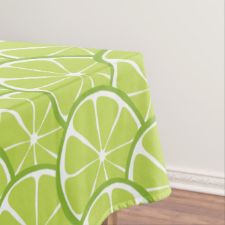 Summer Citrus Lime Tablecloth