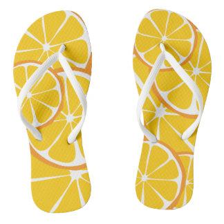 Summer Citrus Orange FlipFlops Flip Flops
