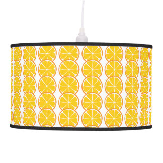 Summer Citrus Orange Lamps and Shades