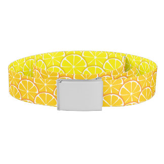 Summer Citrus Orange Lemon Belt