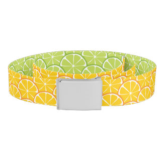 Summer Citrus Orange Lime Belt