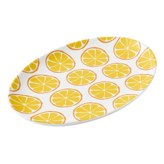 Summer Citrus Orange Platter