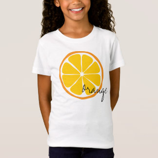 Summer Citrus Orange Shirt