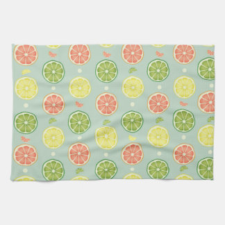 Summer Citrus Tea Towel