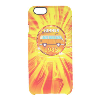 Summer Clear iPhone 6/6S Case