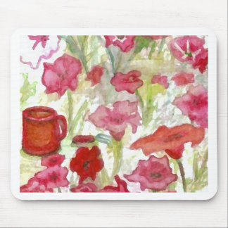 """""""Summer Coffee""""  CricketDiane Art Mouse Pad"""