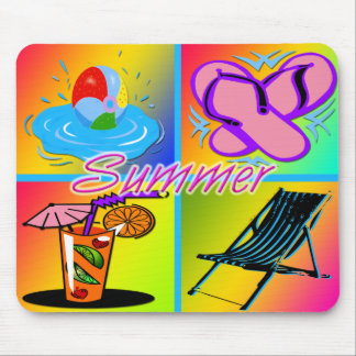 Summer Collage Mousepad