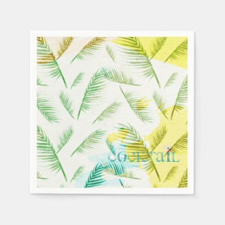 Summer colorful paper napkin