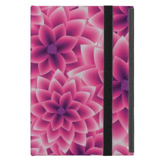 Summer colorful pattern purple dahlia case for iPad mini