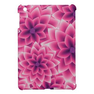 Summer colorful pattern purple dahlia cover for the iPad mini