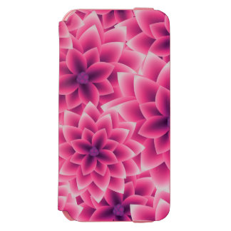 Summer colorful pattern purple dahlia incipio watson™ iPhone 6 wallet case