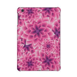 Summer colorful pattern purple dahlia iPad mini retina cover